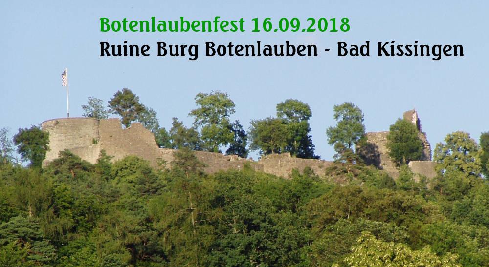 Botenlaubenfest 2018